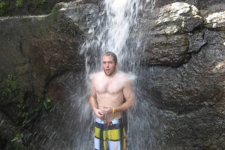 Cachoeira das Primatas Self Falls