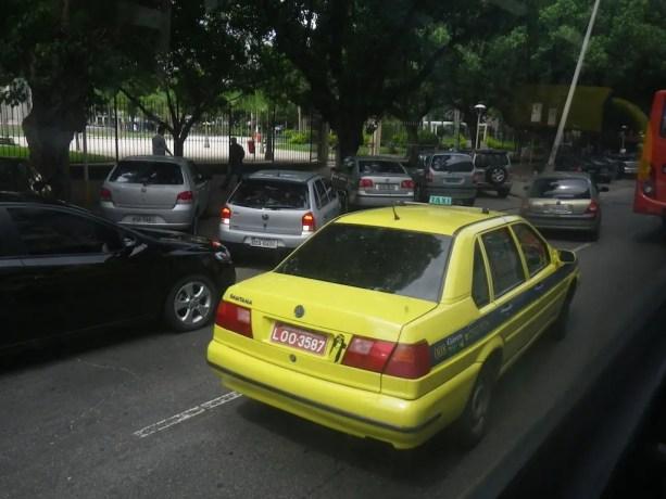 Taxi in Rio de Janeiro