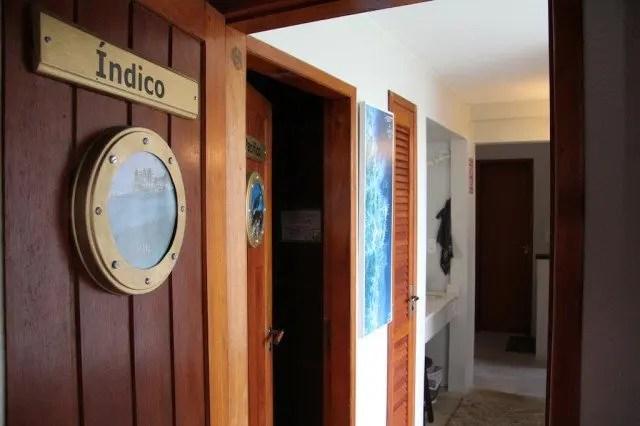 The Submarino Hostel Inside