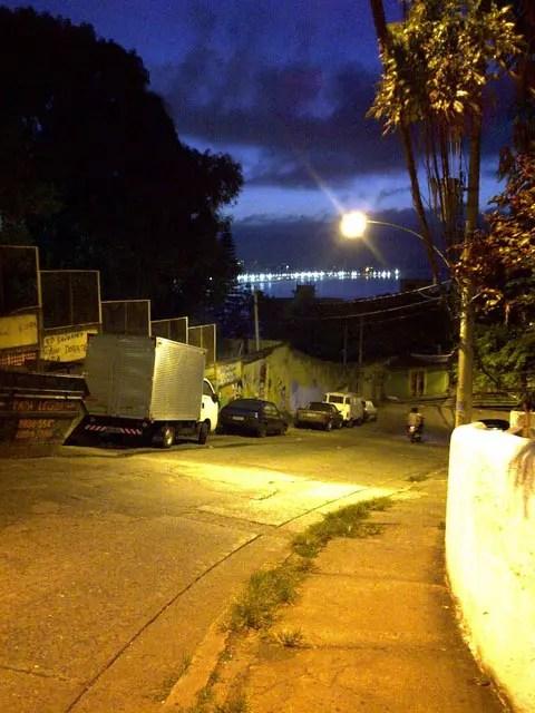 Inside Vidigal Favela