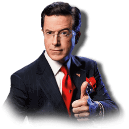 Stephen Colbert Thumbs Up