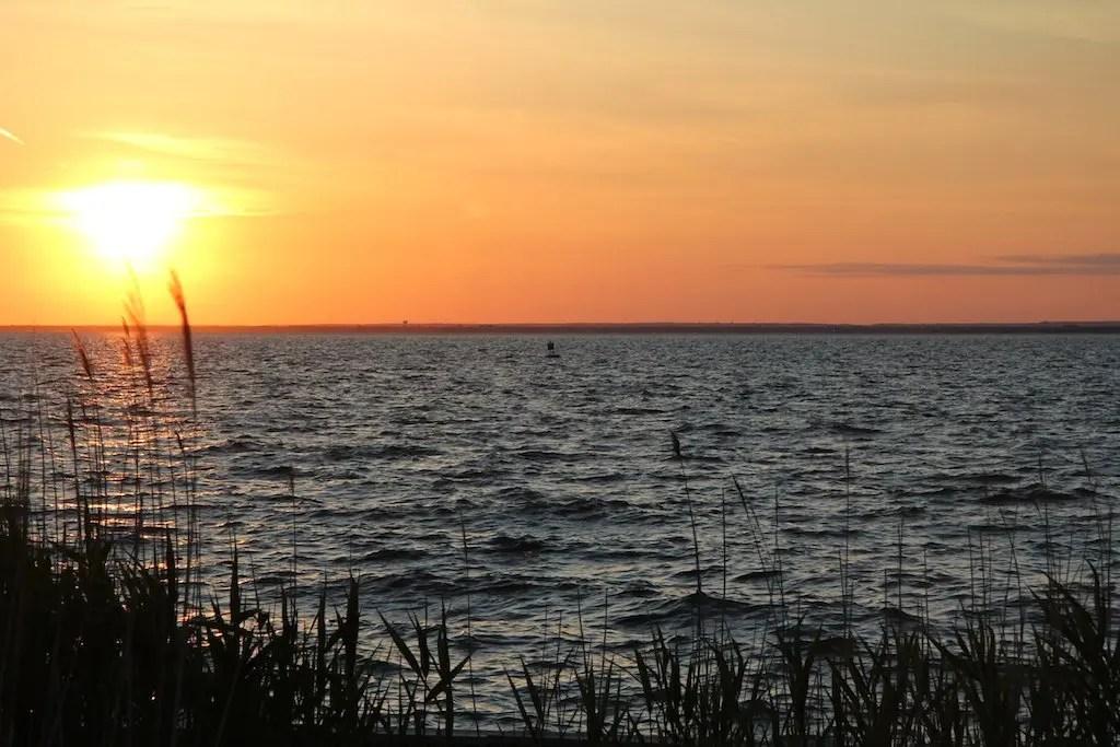 Fire Island Bay View Sunset