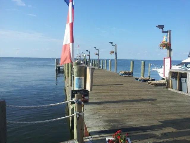 Cherry Grove Ferry Dock