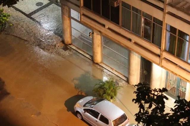 Flooding in Rio de Janeiro