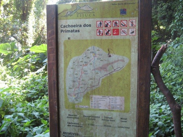 Cachoeira dos Primatas Trailhead