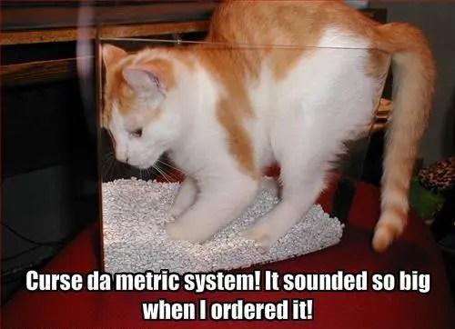 LOLcat-Metric-System
