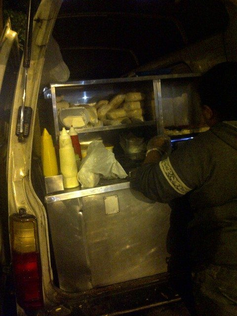 Night food van