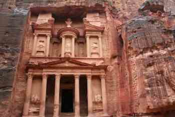 The Treasury (al-Khazna) At Petra