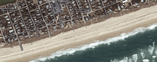 Cherry Grove Beach Sat View