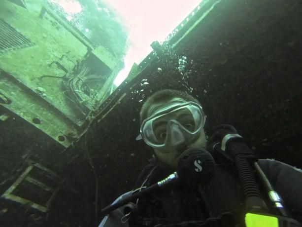 Red Sea Diving Selfie