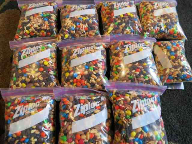 Ultimate Trail Mix Packaged