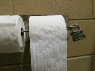 Hiker Proof Toilet Paper