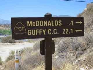 An Afternoon At McDonald's (on the PCT)