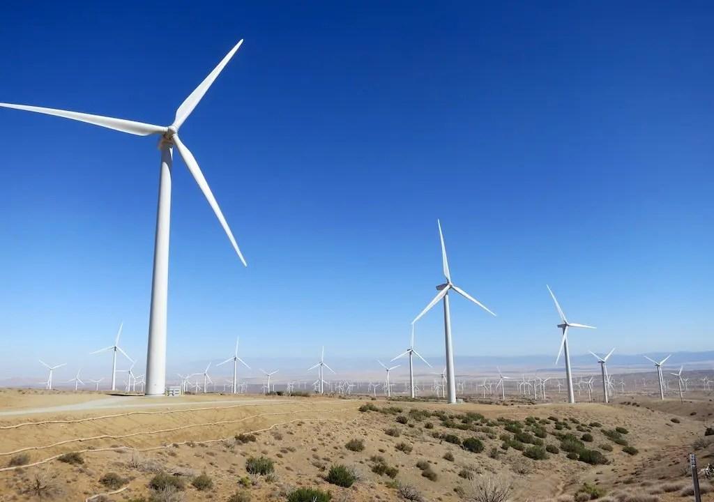 Mojave Wind Turbines