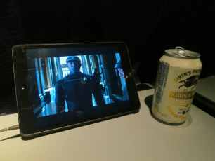 Personal Tablet and Beer