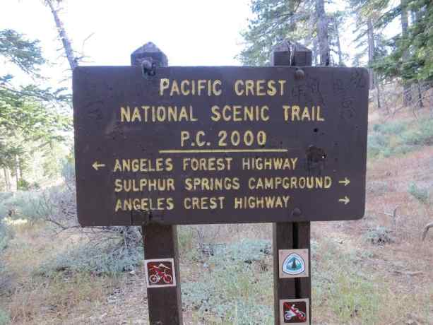 Pacific Crest National Scenic Trail PC 2000