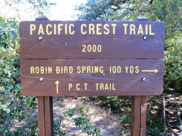 Pacific Crest Trail 2000 Sign 3