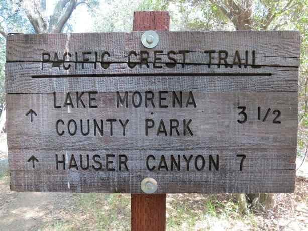 Pacific Crest Trail Sign 1