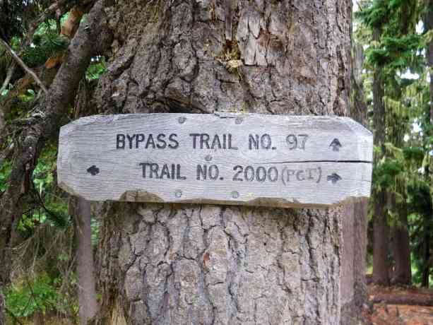 Trail No 2000 Sign 1