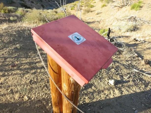PCT Desert Register