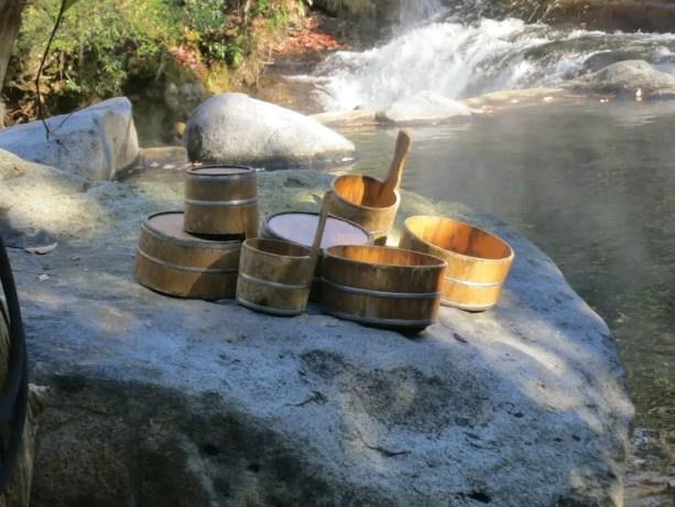 Onsen Bathing