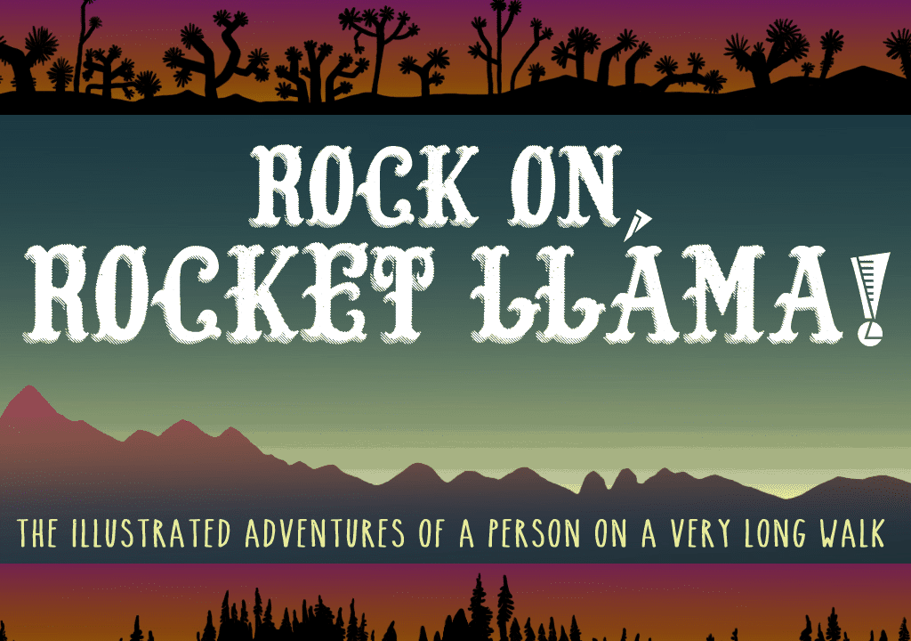 Rocket Llama Banner