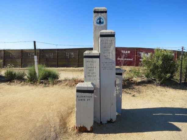 Southern Terminus PCT Monument