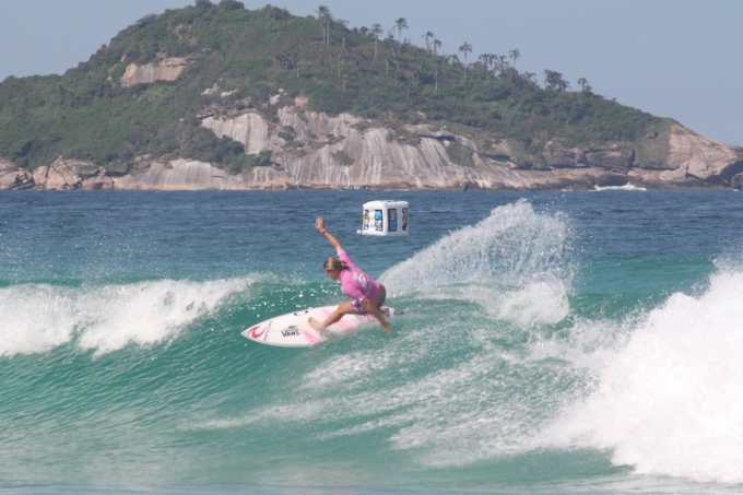 Billabong Pro Rio - Women Pauline Ado