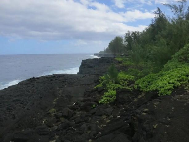 Lava Flow Ocean Maui