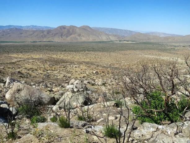 PCT Desert View Scissors Crossing