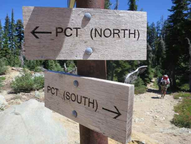 PCT North-South Sign