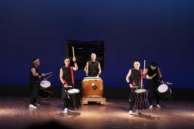 Taiko Drumming 4