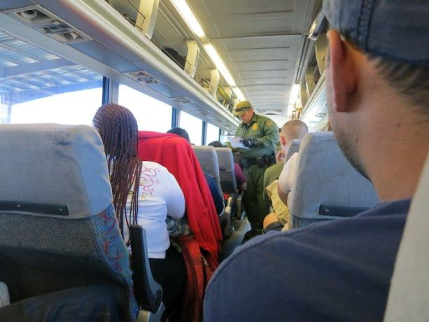 Border Patrol On Greyhound 2