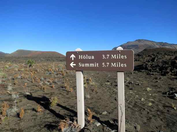 Haleakala Summit Sign