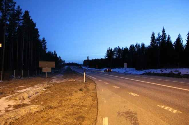 Hitchhiking Spot Sweden 2