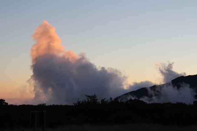 Kaupo Gap Trail Clouds