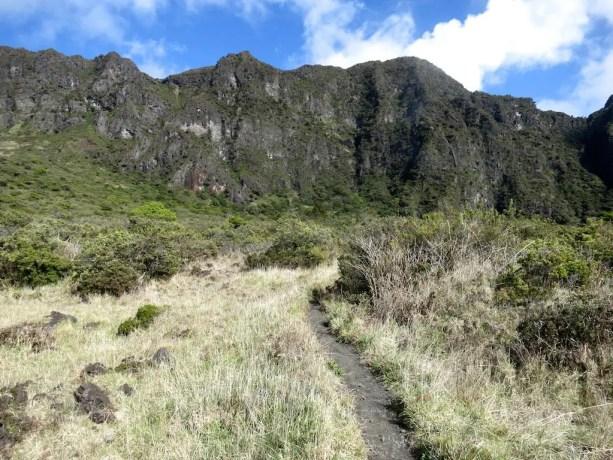 Kaupo Gap Trail Mountains