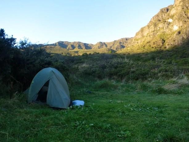 Kaupo Gap Trail Tentsite
