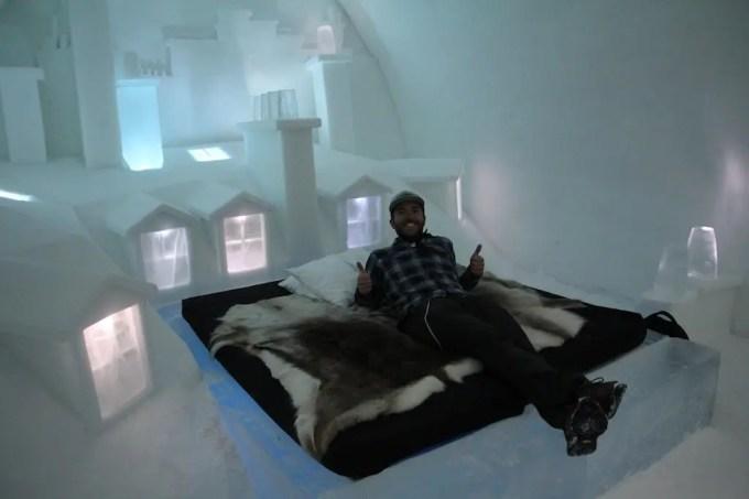 Kiruna Ice Hotel Art Room 12 Self
