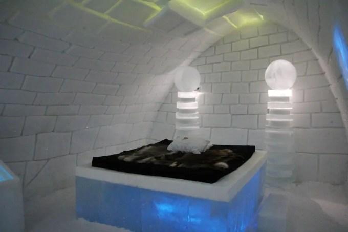 Kiruna Ice Hotel Art Room 6