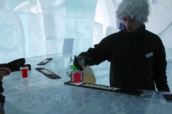 Kiruna Ice Hotel Ice Bar 2