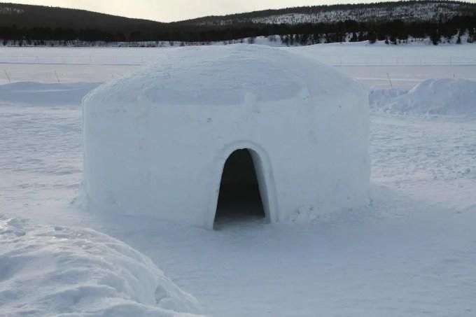 Kiruna Ice Hotel Igloo