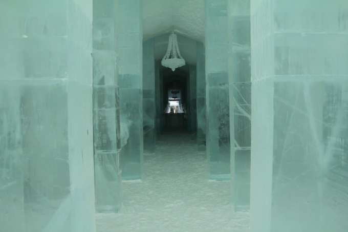 Kiruna Ice Hotel Main Hall 1