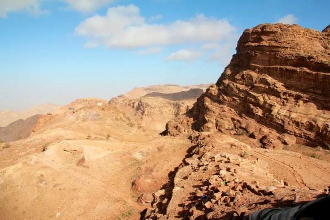 Sacrifice View At Petra