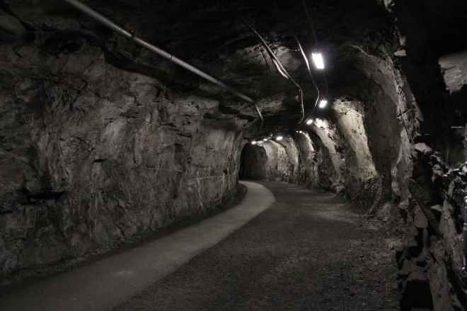 Sweden Kiruna Mine Tunnel