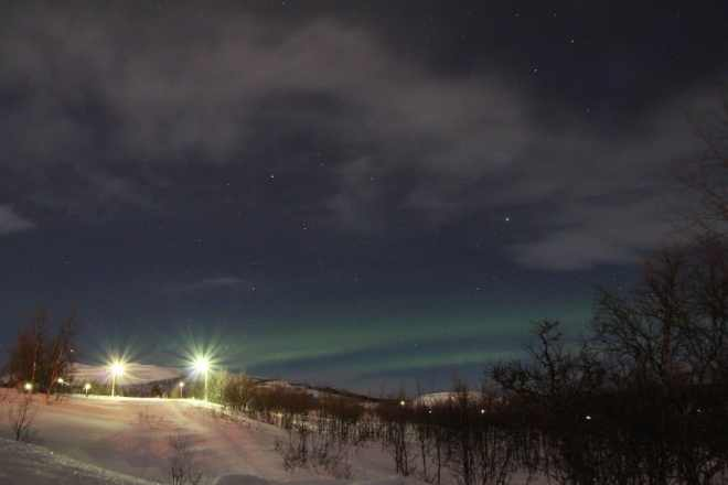 Sweden Kiruna Northern Lights