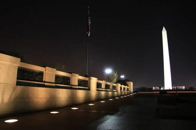 Washington DC Monument Night