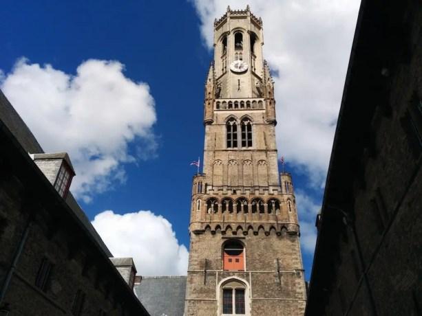 Belgium Brugge Tower