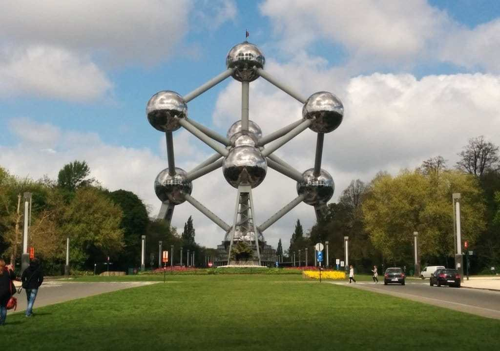 Brlgium Brussels Atomium