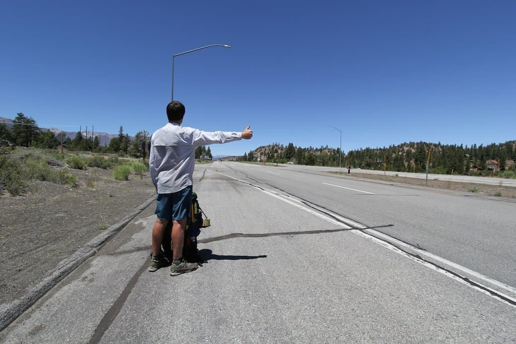 Moist Sierra Hitchhiking